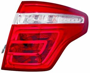 Citroen C4 Picasso 2006 2010 Tail Light Left Lh