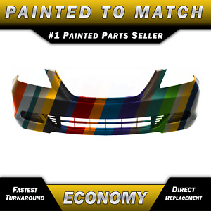 New Painted To Match Front Bumper Cover Replacement 2005 2007 Honda Odyssey Van