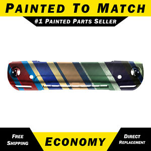 New Painted To Match Front Bumper Cover For 2004 2007 Toyota Highlander W Fog