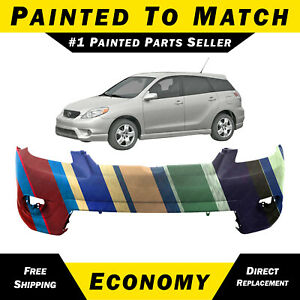 New Painted To Match Front Bumper Cover Fascia For 2005 2008 Toyota Matrix