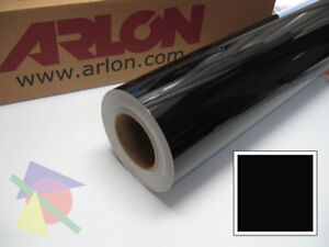 24 X 30yd Black Gloss Arlon 5000 Intermediate Graphic Sign Cutting Vinyl