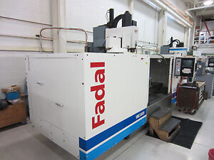 1999 Fadal Vertical Machining Center With Rotary Table