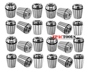 Er32 Collet 25pc Set 1 16 3 4 By 16th And 32nd Industrial Grade Accurate New