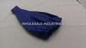 Apc Gear Shift Shifter Boot Cover Blue Pvc Leather Blue Stitching Universal Jdm