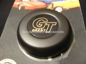 Grant Gt Steering Wheel Replacement Horn Button 5897 Black Classic Challenger