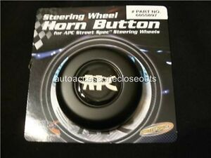 Apc Steering Wheel Horn Button 6055897 Black Grant 5897 New Replacement Classic
