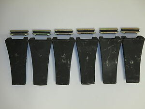 Tf23d 6 Pack Dirt Teeth Bobcat Digging Teeth bucket Tooth 6 Tf23p Flex Pins