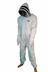 Pro s Choice Best Beekeeping Full Suit 100 cotton with Gloves medium thread r