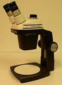 Bausch Lomb Stereozoom 3 Stereo dissecting Microscope used