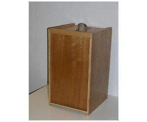 Wooden Microscope Case used
