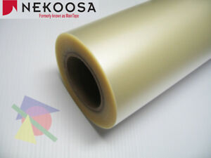 12 X 100 Yds Nekoosa Preview Plus Gxf 100 Clear Transfer Tape