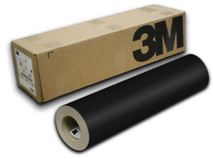 24 X 30yd Black Matte 3m Scotchcal Sc50 Graphic Sign Cutting Vinyl