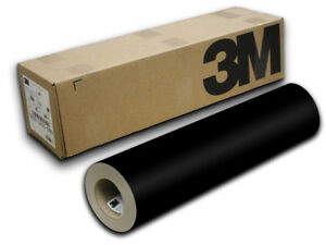 24 X 50yd Black Gloss 3m Scotchcal Sc50 Graphic Sign Cutting Vinyl