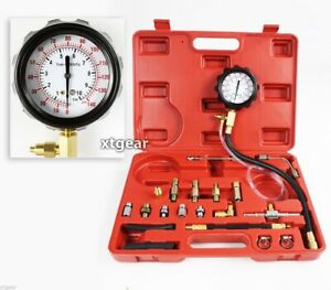 Fuel Pressure Injection Tester Oil Combustion Spraying Pressure Meter Tester New