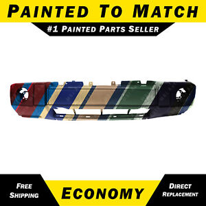 New Painted To Match Front Bumper Cover For 2006 2010 Jeep Commander W Chrome