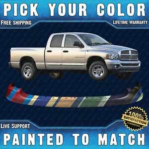 New Painted To Match Front Upper Bumper For 2003 2005 Dodge Ram 1500 2500 3500