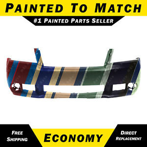 New Painted To Match Front Bumper Cover For 2008 2010 Dodge Avenger With Fog