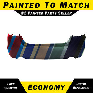 New Painted To Match Rear Bumper Cover For 2013 2014 2015 Nissan Altima Sedan