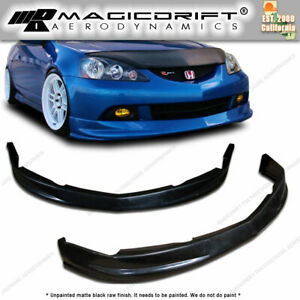 For 05 06 Acura Rsx Jdm Dc5 P1 Style Front Lip Spoiler Kit Poly Urethane Pu