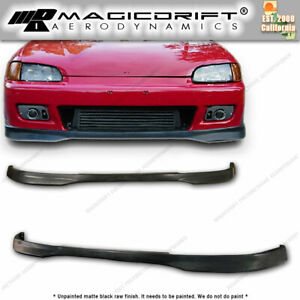 92 95 Honda Civic Eg6 Eg Type R Ctr Front Bumper Pu Lip Body Kit