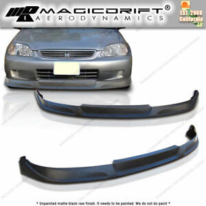 99 00 Honda Civic 4 Door Sedan Ek Jdm Vip Concept Style Front Bumper Chin Lip