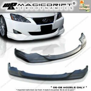 For Lexus 06 08 Is250 Is350 Ins Vip Style Front Bumper Lip Body Kit Urethane