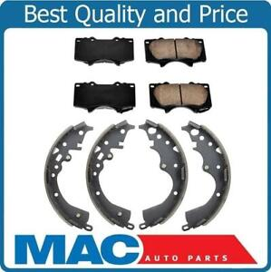 New Front Brake Pads Rear Brake Shoes For Toyota Tacoma 4x4 4 Wheel Drive 05 12