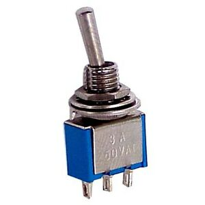 Mini Toggle Ac 125v 6a On off on 3 Position Spdt Small Toggle Switch