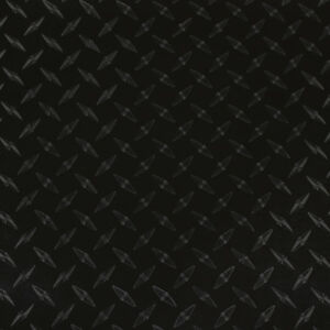 24 X 5yd Black Diamond Plate lvg Intercal Sign Graphic Vinyl Film