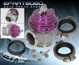 38mm Purple External Compact V band Manifold Mount Waste Gate Dump Valve By Pass