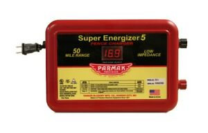 Parker S e 5 Super Energizer Electric Fencer