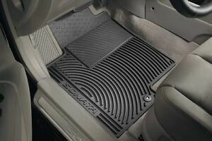 Hyundai Sonata All Weather Floor Mats Front Rear Set 2011 2012 2013 Oem