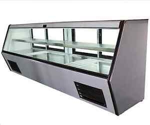 96 Brand New Us made With Us Compressor Cooltech Refrigerated Counter Deli Case