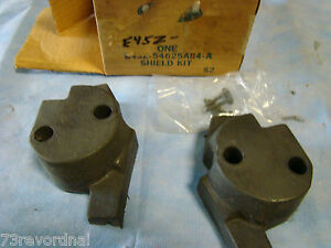 Nos 83 84 Ford Exp Escort E43z54625a84a Seat Back Latch Seal Shield Kit