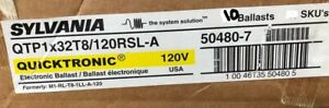 10 Sylvania Qtp1x32t8 120 Rsl a 4 Wire One Lamp Rapid Start Electronic Ballasts