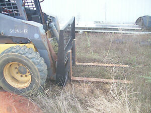 Versatech Pallet Fork Carriage Skid Steer Loader Attachment