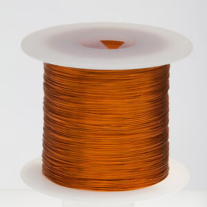 20 Awg Gauge Enameled Copper Magnet Wire 1 0 Lbs 314 Length 0 0343 200c Nat
