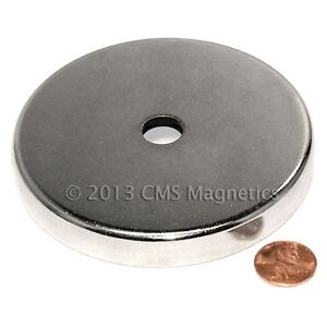 120 Lb Pull Magnetic Round Base Rb85 Magnetic Cup Assembly 3 79 Inch 50 count