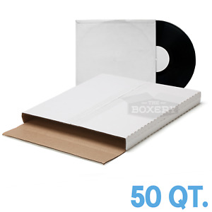 50 Record Mailing Boxes Vinyl Record Mailers Multi depth The Boxery