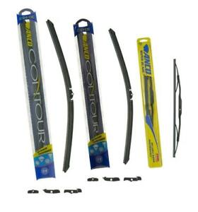 09 2013 Traverse Anco Front Wiper Blades 3pc Kit Michelin Rear 3712
