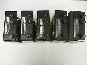Lot Of Five Progress Electronics 3030 Remote Power Supplys 700 0008 000