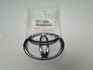 Toyota 4runner T100 Tacoma Pickup Truck Front Grill Emblem Genuine 75311 35090