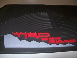 2005 2011 Tacoma Trd All Weather Front Floor Mats Pt908 350rw 02 Genuine Toyota