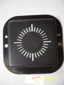 1970 Chevelle Clock Delete Green Tint Original And Nice