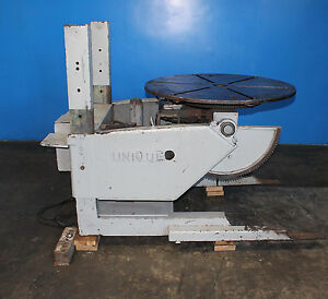Reedco Unique Welding Positioner 2 500 Lbs 6080