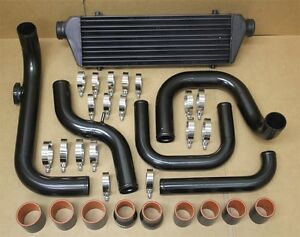 Aluminum Blot On Turbo Intercooler Piping Kit Honda Civic 96 00 D15 D16 B18 Ek