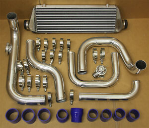 Honda Civic 96 00 D15 D16 B18 Aluminum Blot On Turbo Intercooler Piping Kit Ek