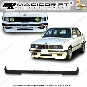84 92 Bmw E30 3 Series Lower Valance Oe Is M Tech Style Front Bumper Lip Spoiler