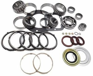 Ford Zf S6 650 6 speed Manual Transmission Rebuild Kit Synchros 98 on Bk486ws