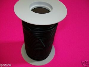 50 Foot Reel 1 4 I d X 1 32 Wall Reel Latex Rubber Tubing Black Surgical